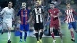 Ronaldo, Agüero, Griezmann? Who will you pick in Fantasy Football