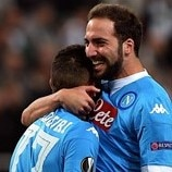 Higuaín screamer for Napoli
