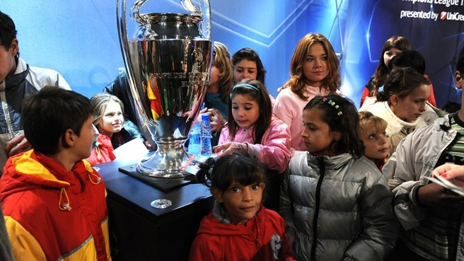 Trophy Tour scores European success