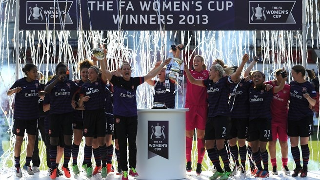 Arsenal claim 12th FA Women's Cup