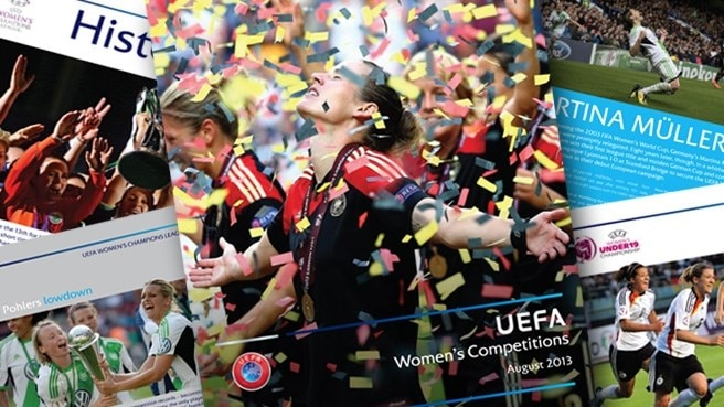 UEFA's new women's competitions publication