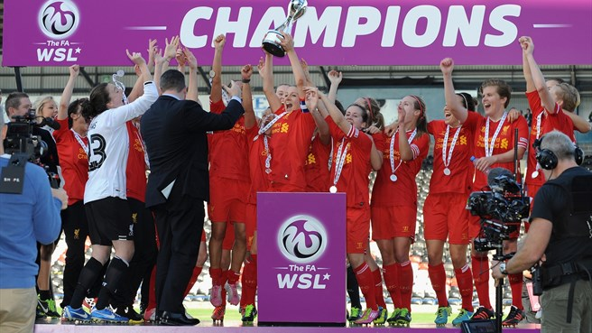 Liverpool claim first English title