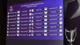 UEFA Women's Champions League 2019/20 Round of 32 Draw