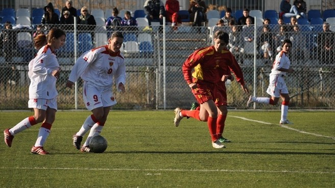 Women's football drive in Montenegro