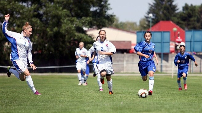 Match action, Slovakia women's development event
