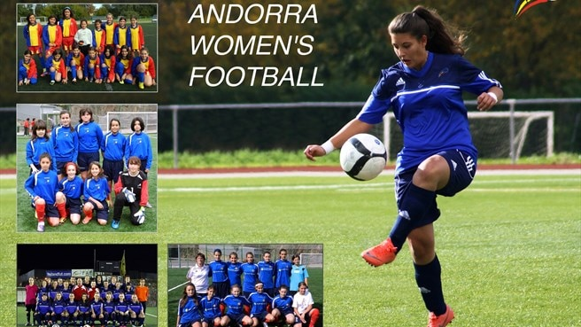 Big kick-off for Andorran girls