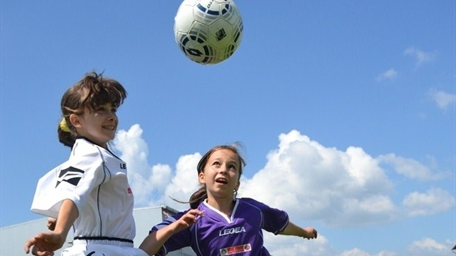 Women's football development in full flight