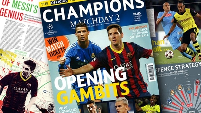 Champions Matchday focus on Ronaldo and Messi