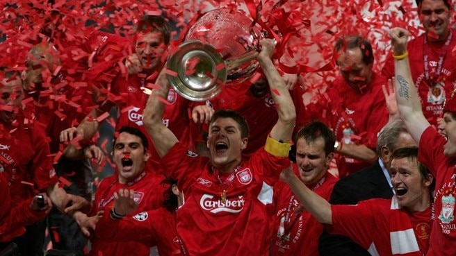2004/05: Liverpool belief defies Milan