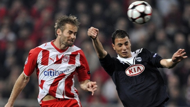 Olympiacos seek quarter-final lift