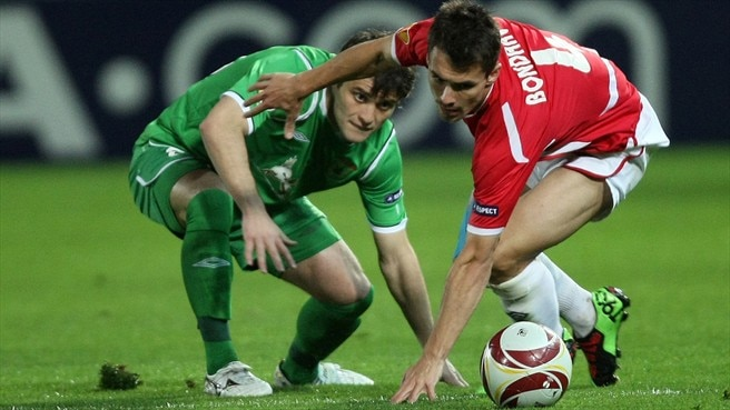 Rubin hold Hapoel to earn Wolfsburg date