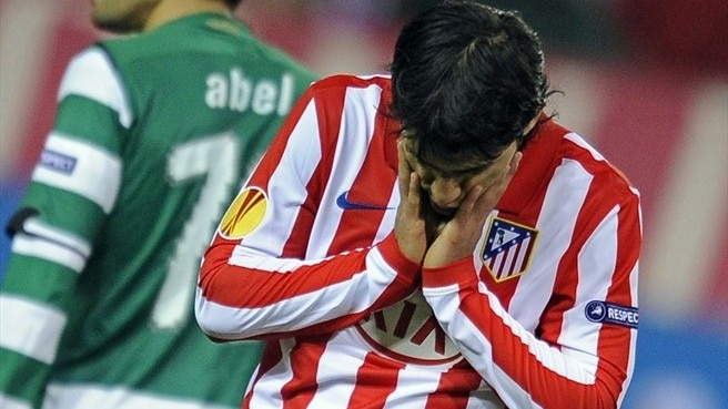 Atlético - Sporting reaction