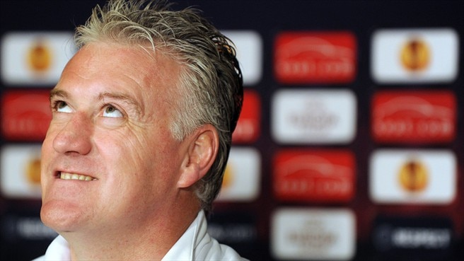 Deschamps has double vision