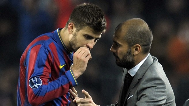 No place like home for Piqué