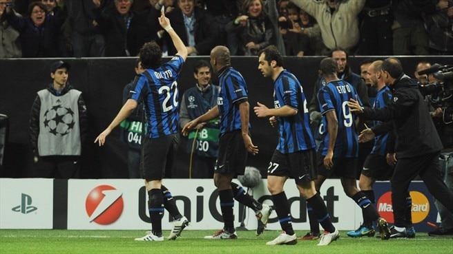 Milito edges Inter noses in front