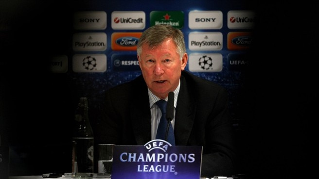 Press conference: Sir Alex Ferguson & Ryan Giggs - Man. United (v Bayern)
