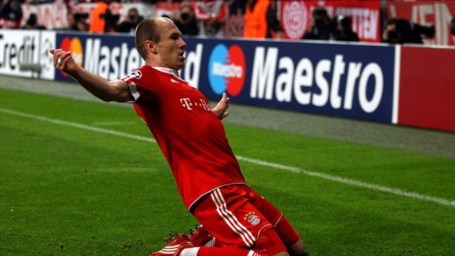 Robben tips balance Bayern's way