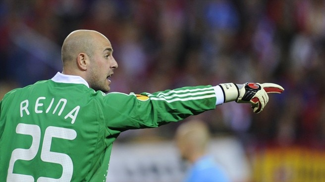 Reina laments 'ugly' Liverpool loss