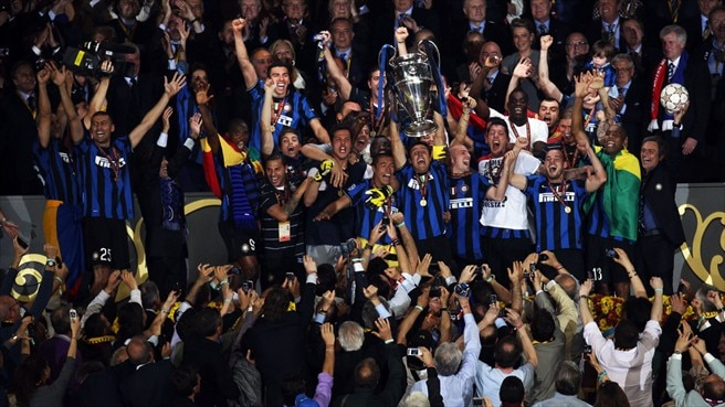 Inter back on top at last