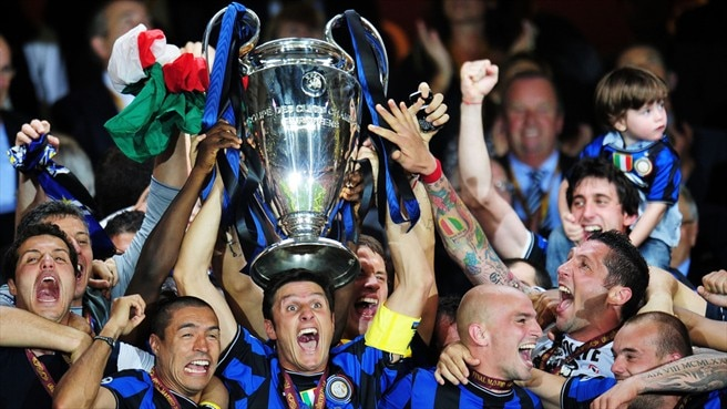 Inter lead 2009/10 prize money list