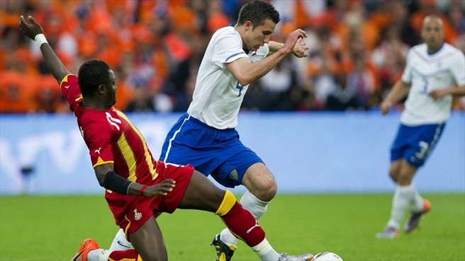 Netherlands hit Ghana for four