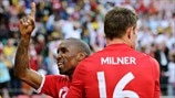 Jermain Defoe & James Milner (England)