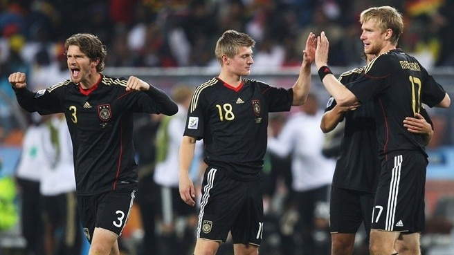Arne Friedrich, Toni Kroos & Per Mertesacker (Germany)