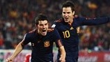 David Villa & Cesc Fàbregas (Spain)