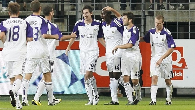 Lukaku at the double as Anderlecht cruise through