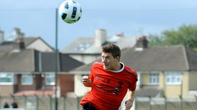 Gerrard and Liverpool renew acquaintances with Steaua