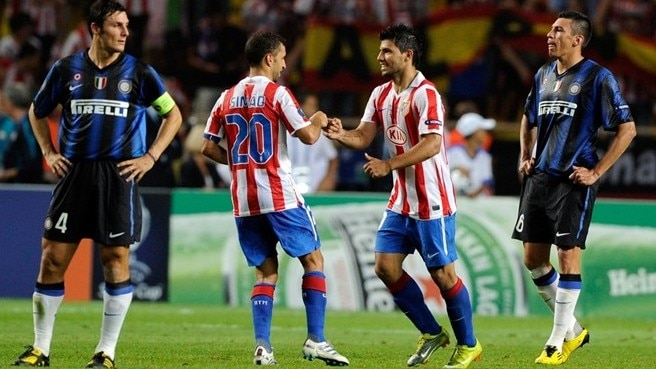 Atlético edge underdogs in front