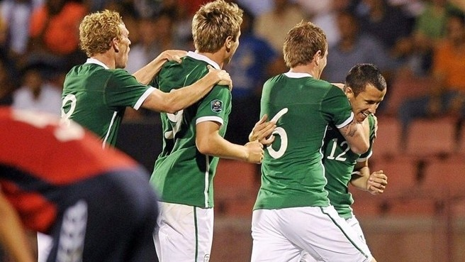 Fahey earns Ireland three points in Armenia
