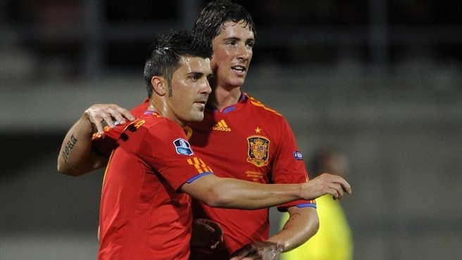 Holders Spain too strong for Liechtenstein