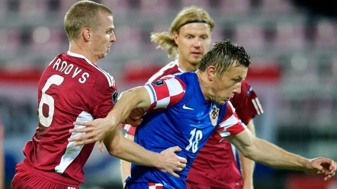 Croatia look to defend perfect record against Latvia