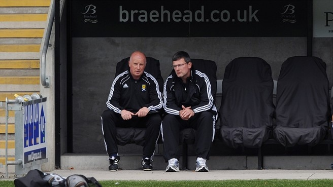 Craig Levein & Peter Houston (Scotland)