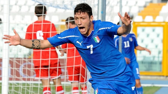 Mustacchio strike lifts Italy above Wales