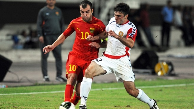 FYROM and Armenia share spoils and late drama