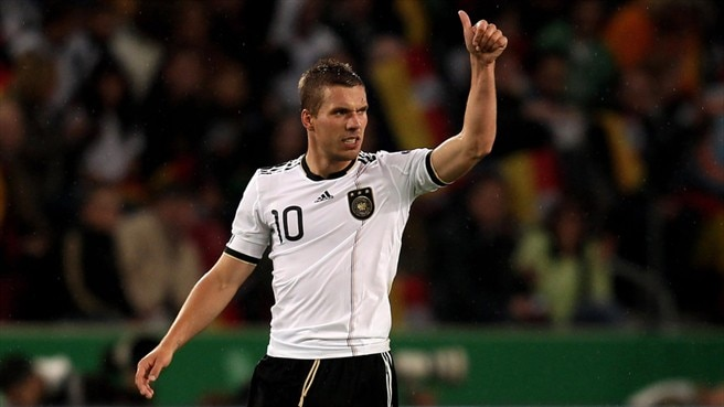 Podolski proves his worth to Germany again