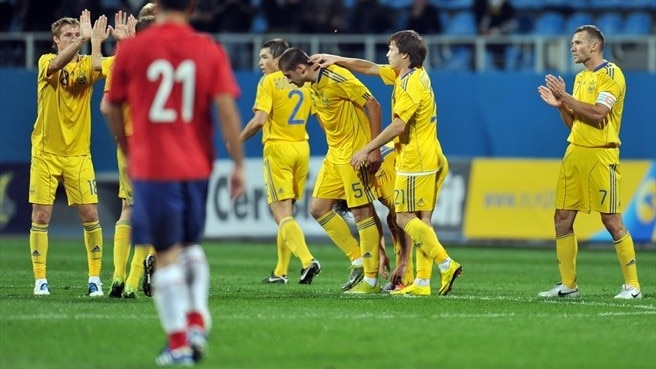 Ukraine continue unbeaten run
