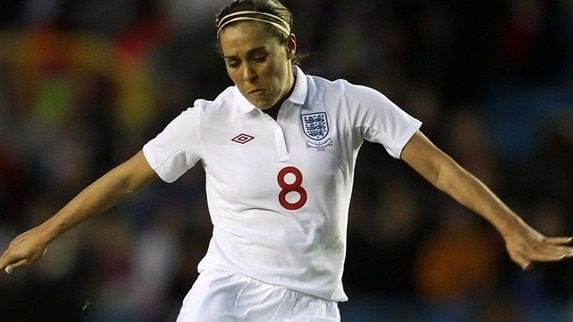 Fara Williams in focus
