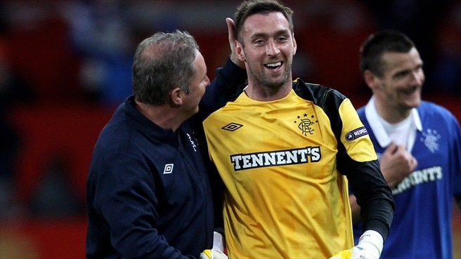 Rangers keeper McGregor out to deny Ivankov