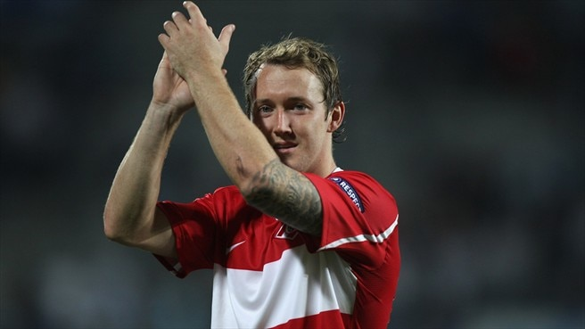 McGeady credits Spartak muscle for Ajax win