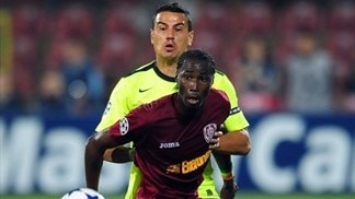 CFR Cluj - Basel reaction (Traore, Chipperfield & Safari)