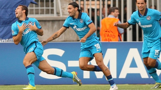 Bruno Alves gives Kerzhakov his due for Zenit