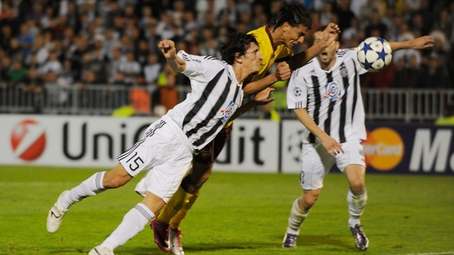 Match facts: Arsenal v Partizan