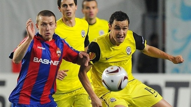 CSKA Moskva leave it late to beat Sparta