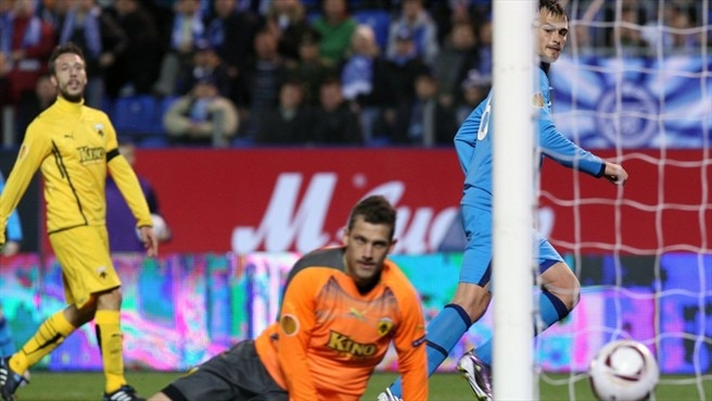 Zenit zip proves too much for AEK