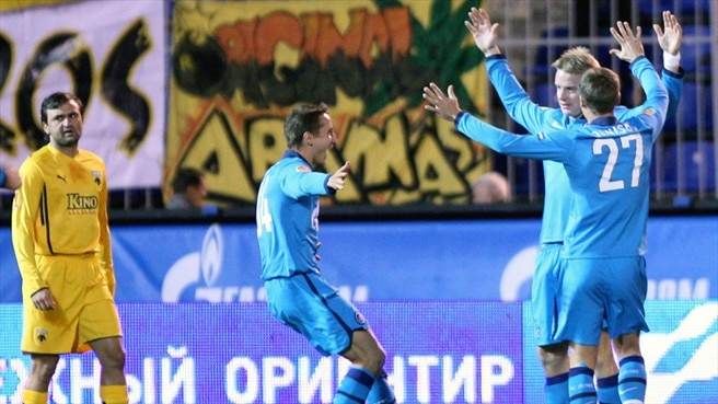 Zenit eye more Group G joy against Hajduk