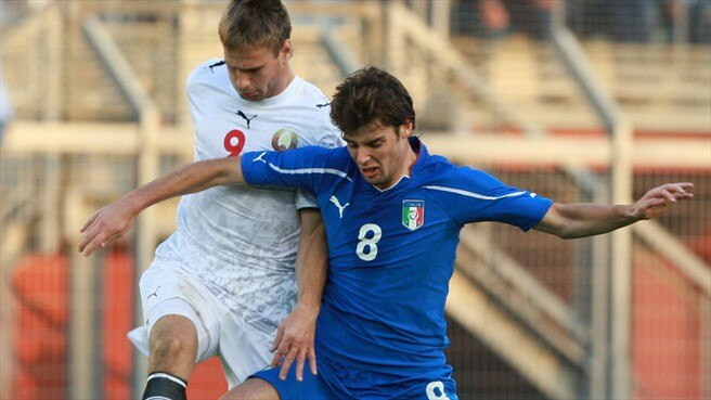 Veretilo strikes late as Belarus stun Italy