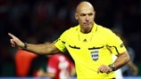 Howard Webb in focus